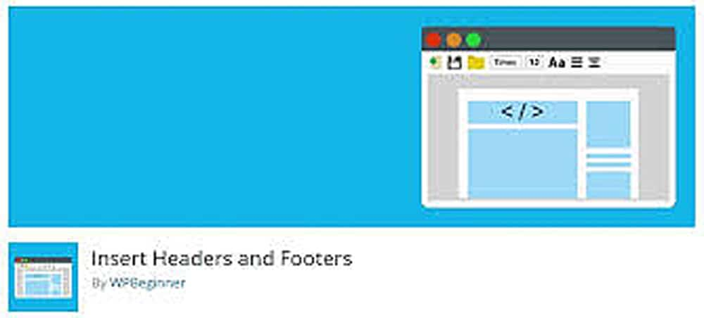 Insert Headers and Footers | Must Have Plugins For WordPress