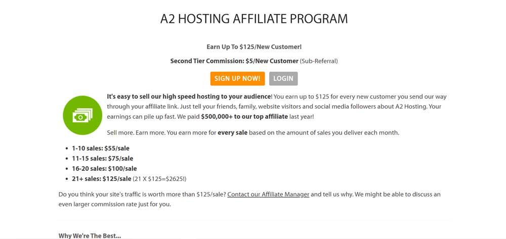 A2hosting Affiliate Program