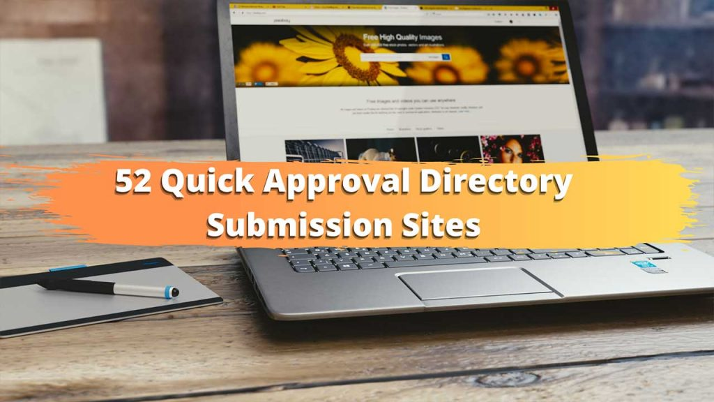 quick approval directory submission sites list