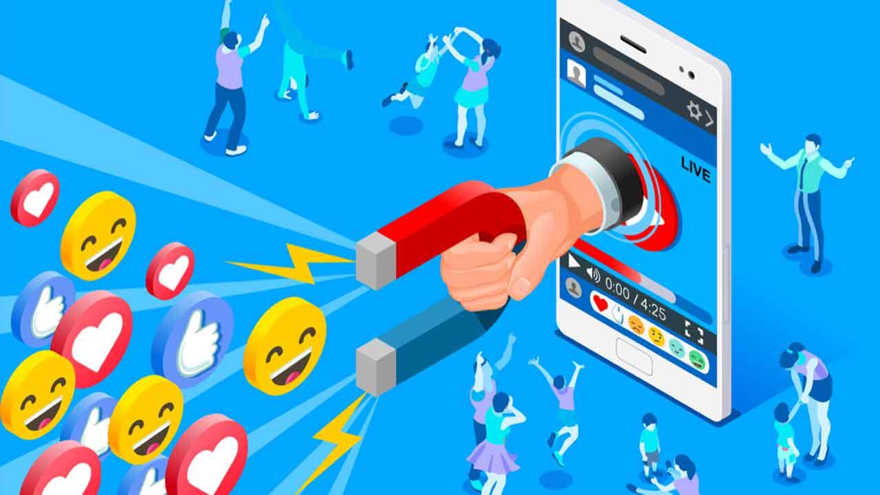 Generate leads through social media